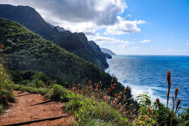 Kalalau Trail on Kauai, Hawaii