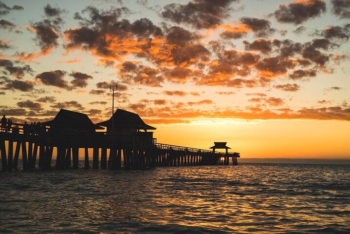 Sunset at Naples Pier, Florida