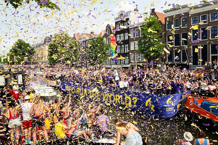 Pride Amsterdam's 2018 Canal Parade.