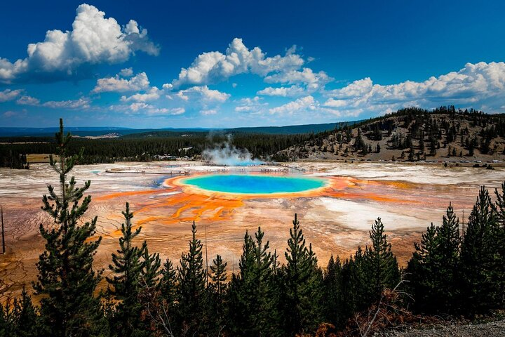 Grand Prismatic Spring; Things to do in Yellowstone National Park