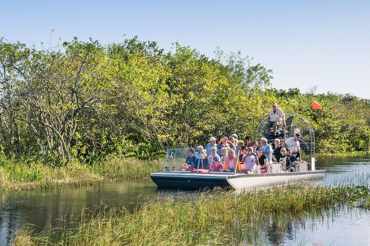 People cruise through the everglades; Things to do in the Everglades National Park.