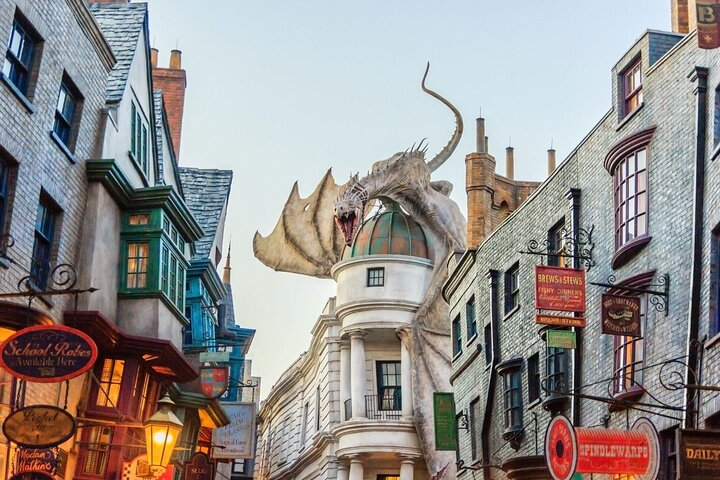 Part of the Wizarding World of Harry Potter in Orlando, Florida.