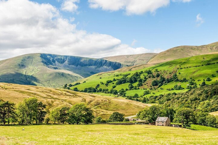 Southern Howgill Fells in the Yorkshire Dales, England