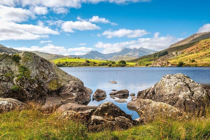Llynnau Mhmbyr in Snowdonia National Park, Wales.