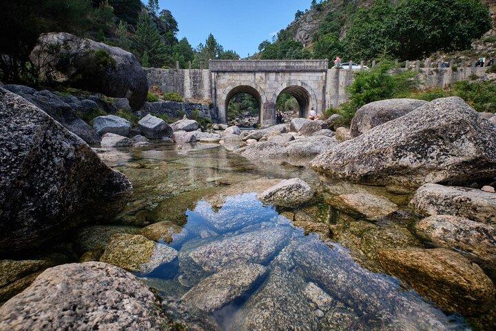 A bridge in the Peneda-Gerês National Park, Portugal.