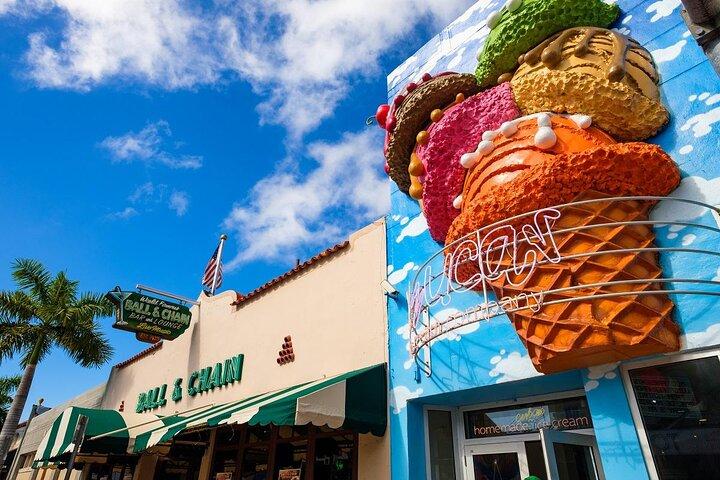 Exterior of Azucar Ice Cream Company in Little Havana, Miami