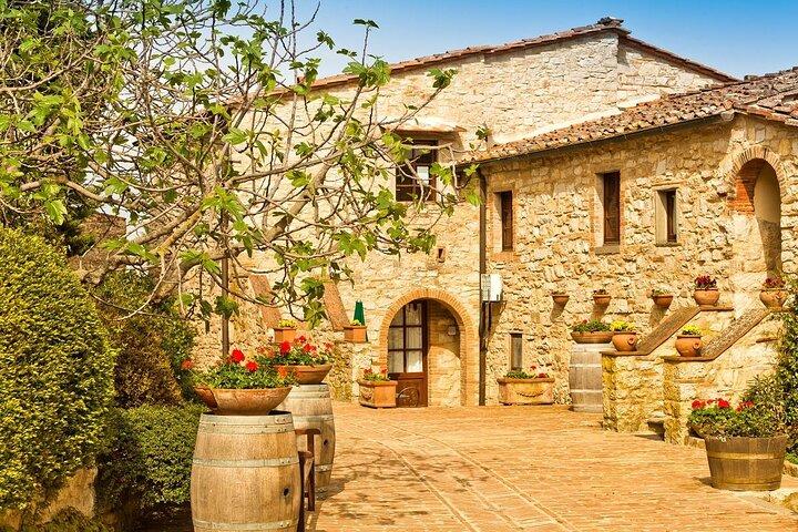 A historic wine estate in Chianti, Tuscany