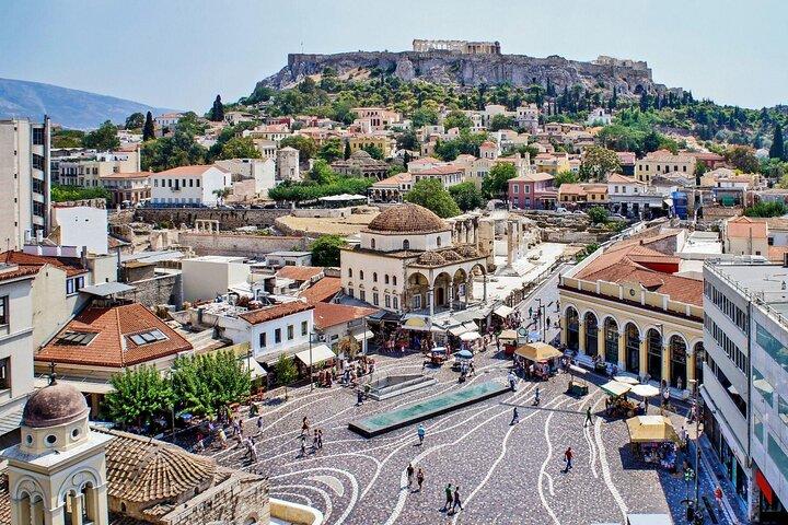 Monastiraki, Athens, Greece.