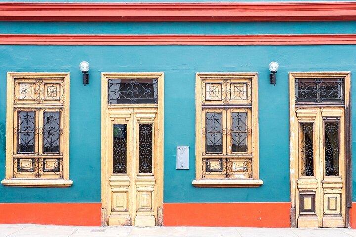 Miraflores facade in Lima, Peru