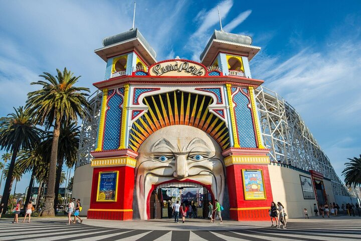 Luna Park in St Kilda, Melbourne
