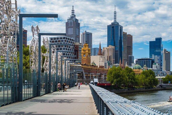 Southbank neighborhood, Melbourne.